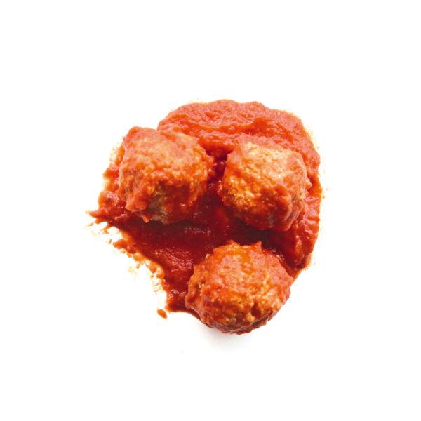 glutenvrije balletjes in tomatensaus