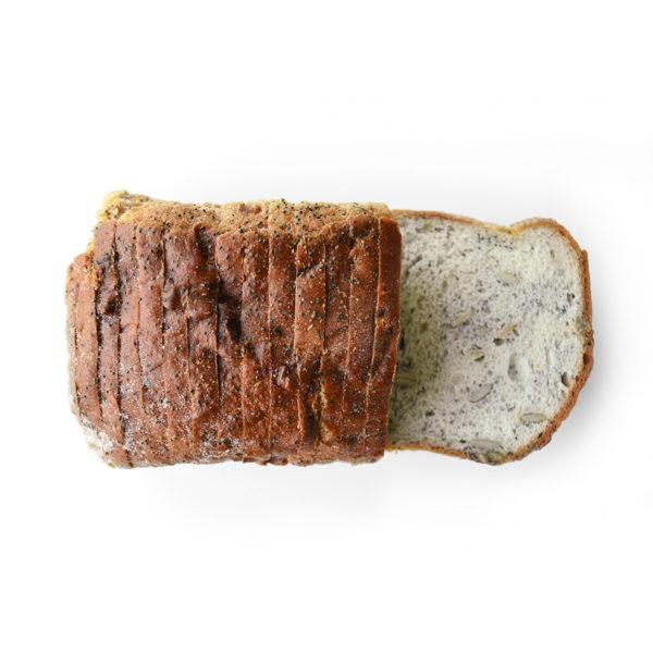 glutenvrij brood maanzaad pompoen