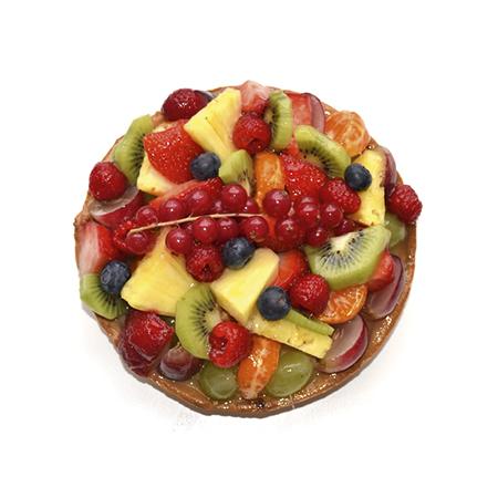 glutenvrije gemengde fruittaart