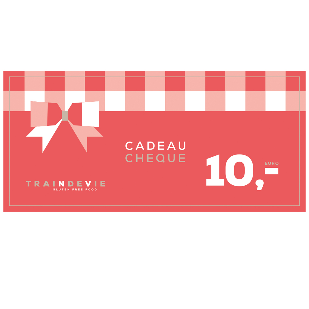 Cadeaucheque Traindevie –  €10