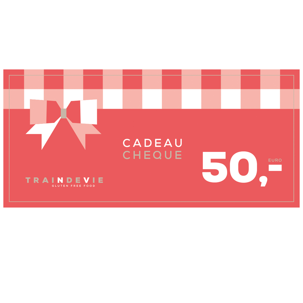Cadeaucheque Traindevie – €50