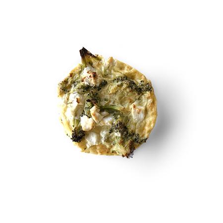 Glutenvrije quiche broccoli en feta