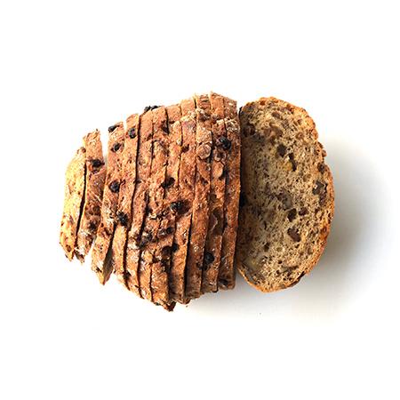 glutenvrij rozijnenbrood