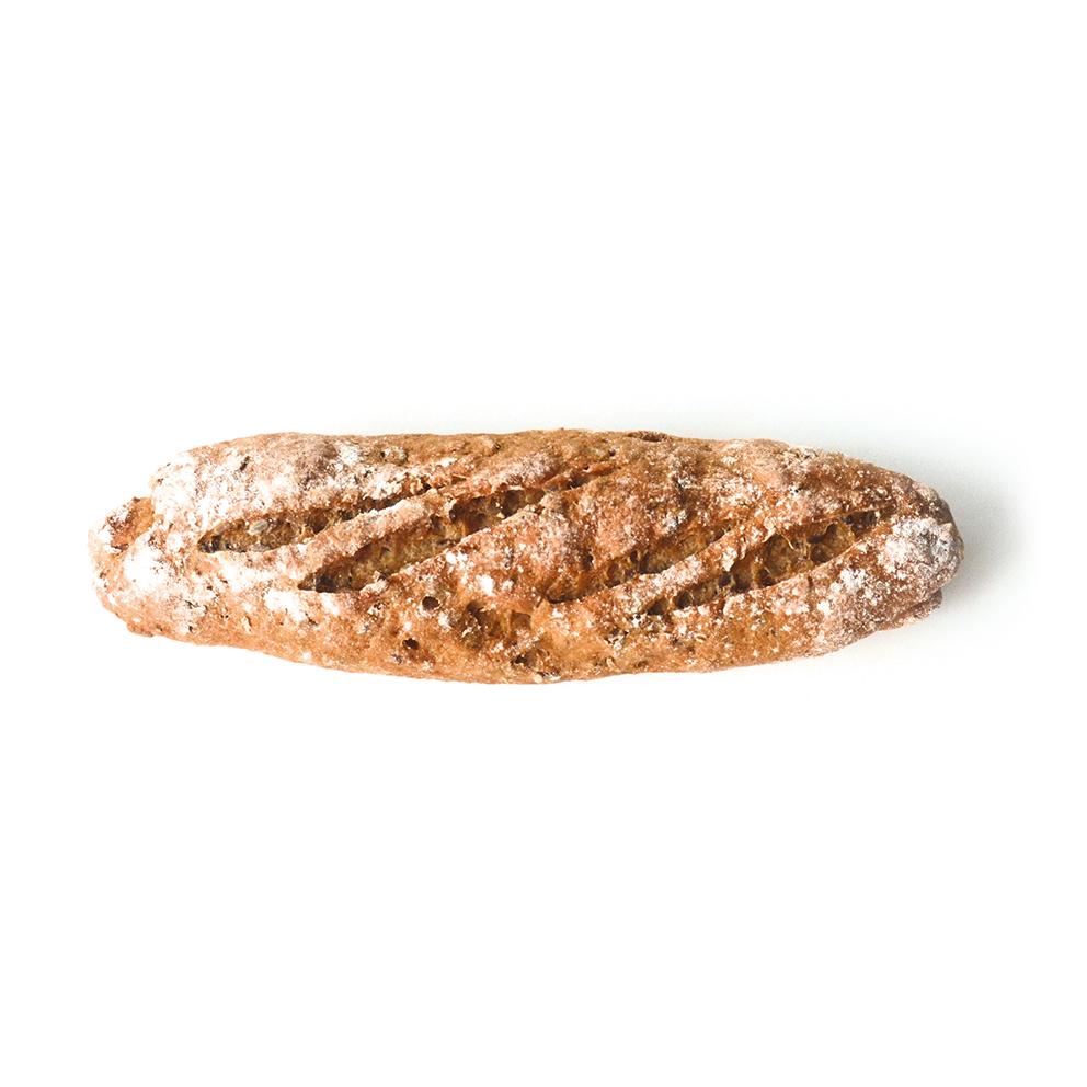 Bruin meergranen stokbrood GV/LV/MV – 2 stuks