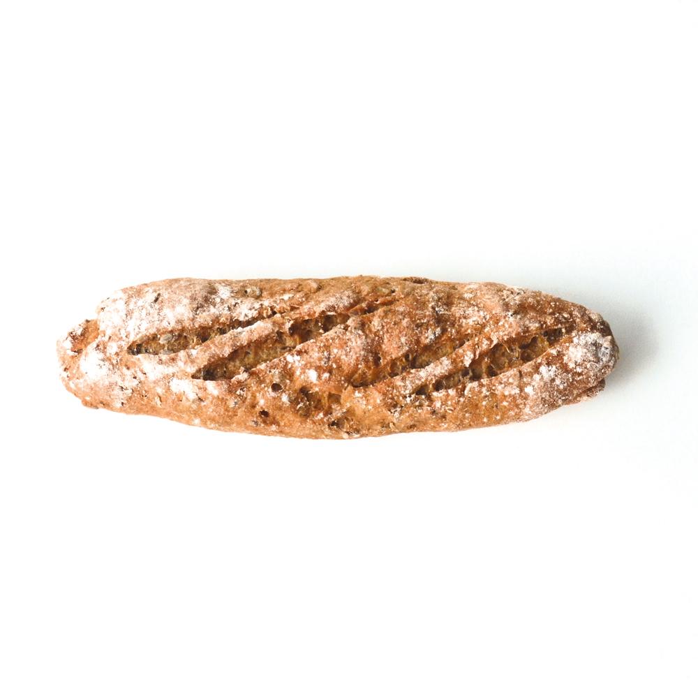 glutenvrij stokbrood bruin meergranen