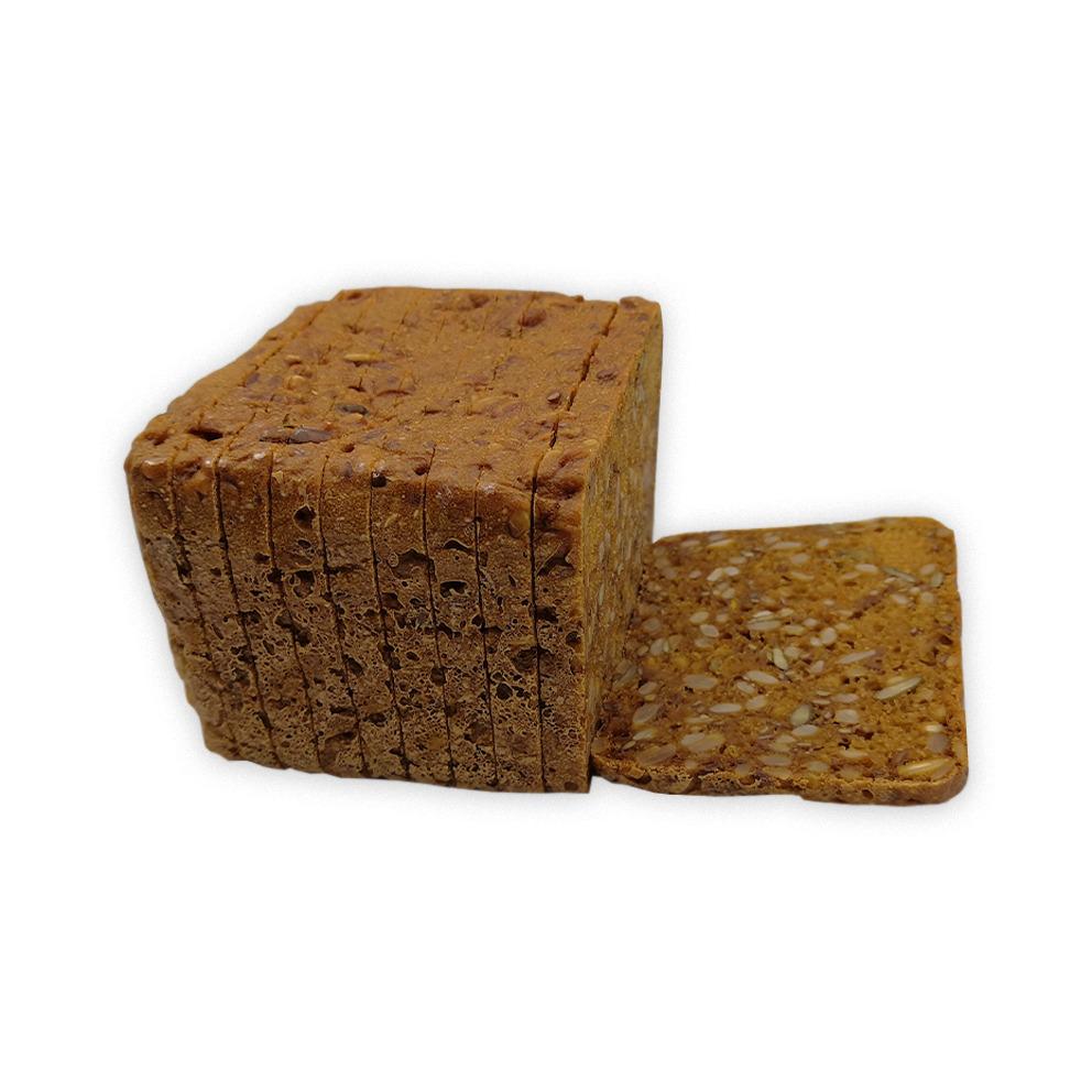 glutenvrij zwart woudbrood