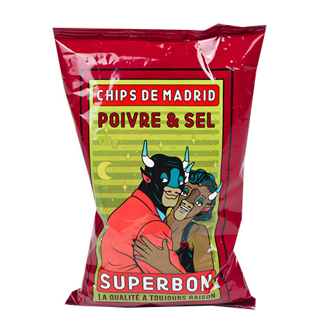 Chips de Madrid peper & zout