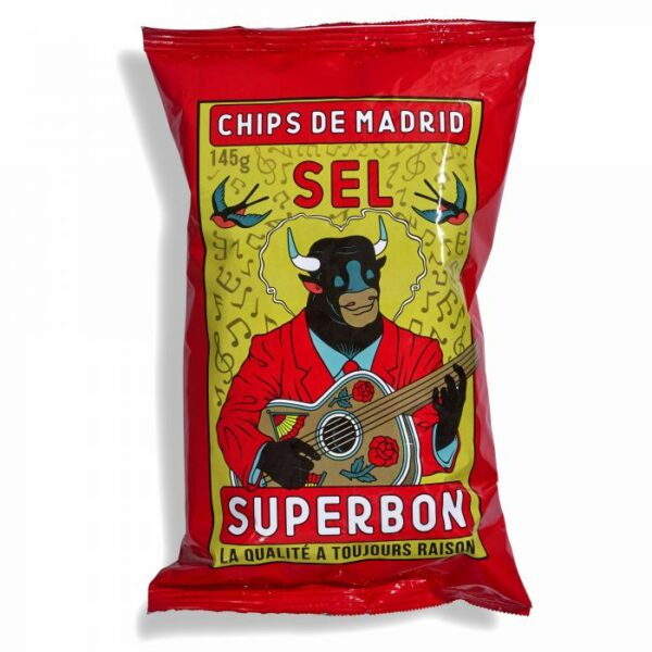 Chips de Madrid Zout
