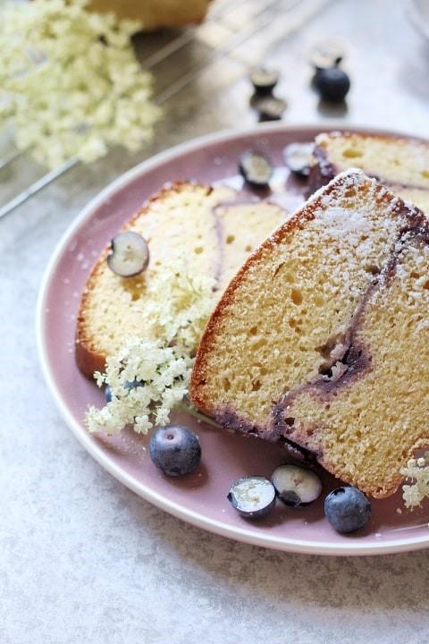 Recept van de maand: glutenvrije bosbessencake