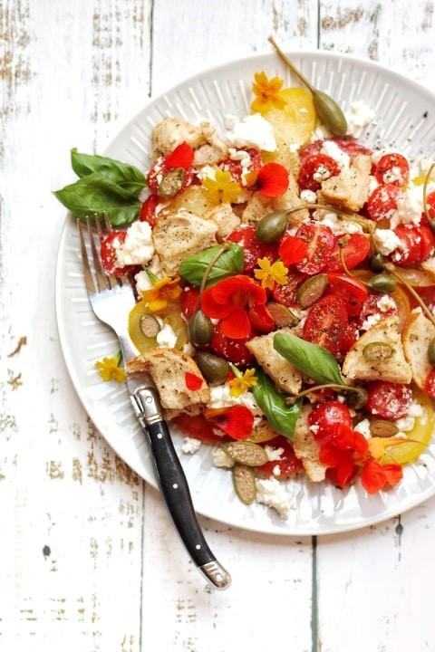 Recept van de maand: overheerlijke glutenvrije Panzanella.