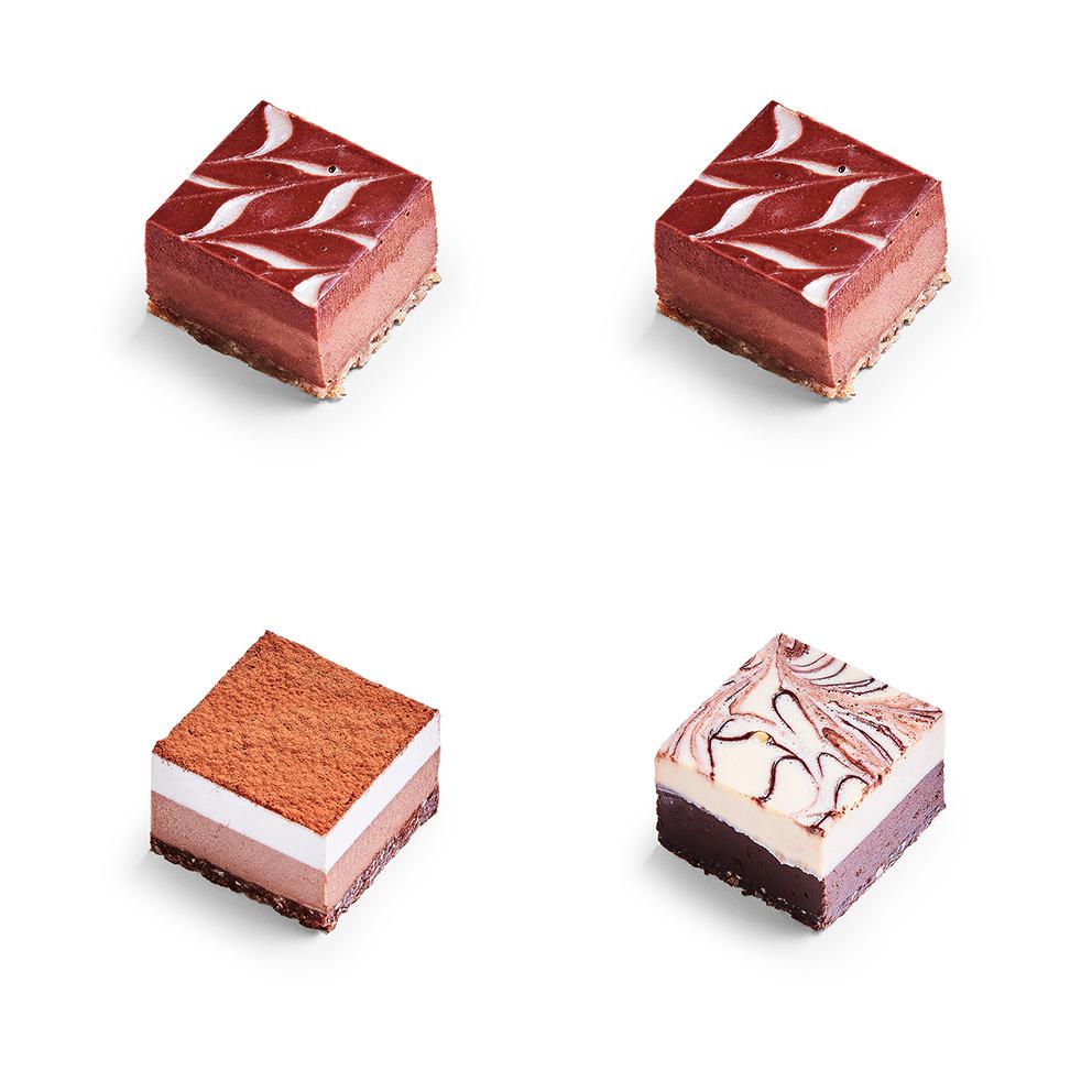 VEGAN RAW chocolade taart
