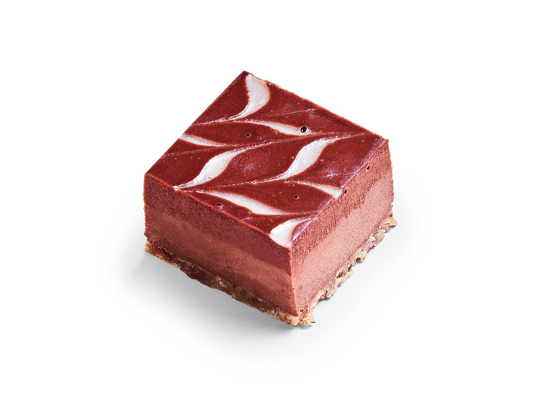 Assortiment RAW chocoladetaartjes – 4 stuks