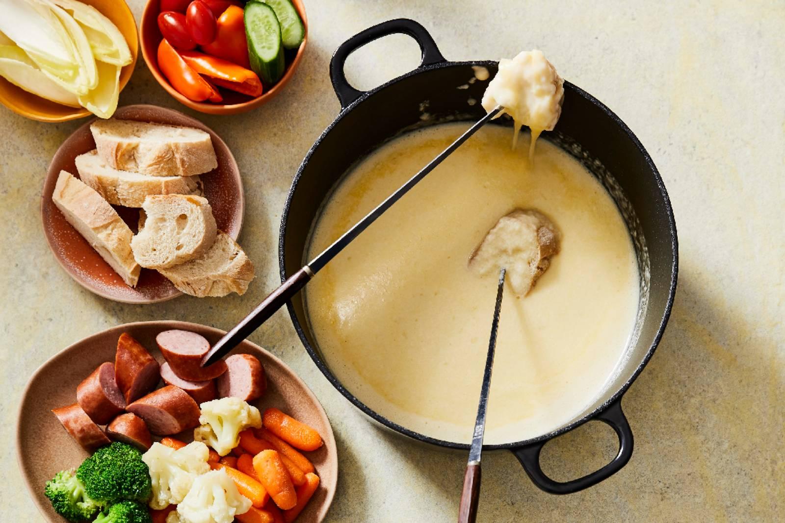 Recept van de maand: Glutenvrije Zaanse kaasfondue